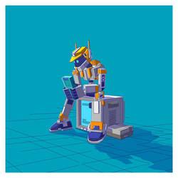 Xhyle Robot 04 by utria