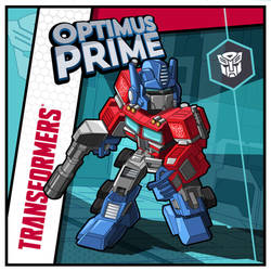 Optimus Prime by utria