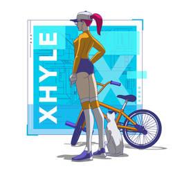 Xhyle Bike 02 by utria