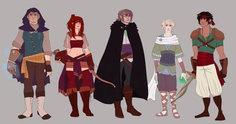 Cast line-up by PrinceIchi