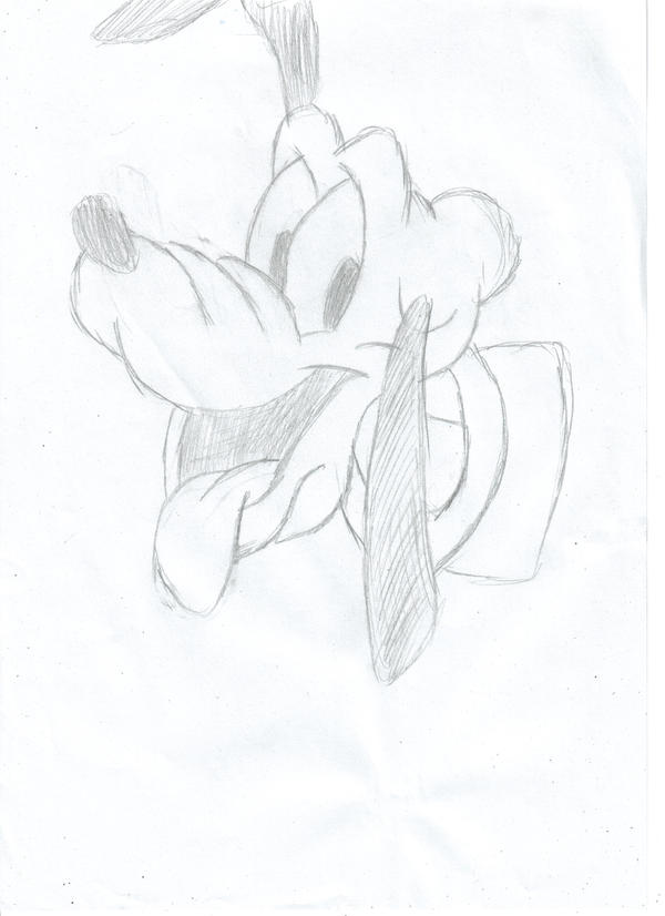 pluto black and white by kittyangel14 on deviantart