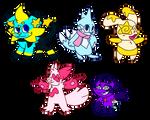 Pokemon adopts