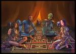 Mandalorians by Celestialhost