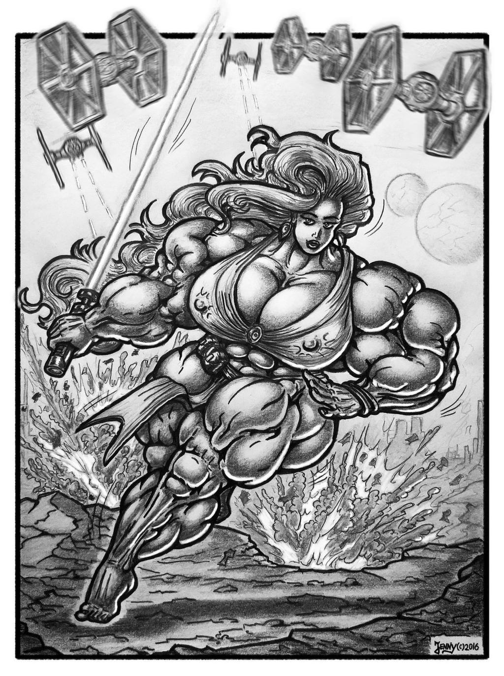 1609 Jedi-Muscles by Jennysartwork