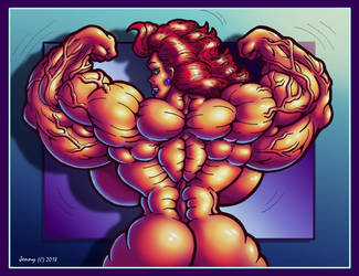 1811 Double Biceps by Jennysartwork