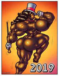 1812 Happy New Year 2019 by Jennysartwork