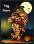 1910 Happy Halloween by Jennysartwork