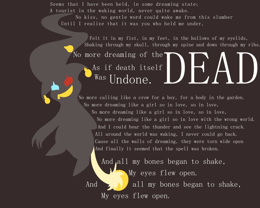 No More Dreaming Of The Dead By Sosemi On Deviantart