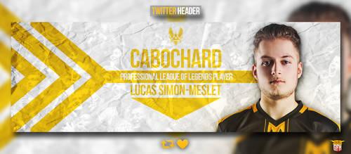 Twitter banner for Cabochard