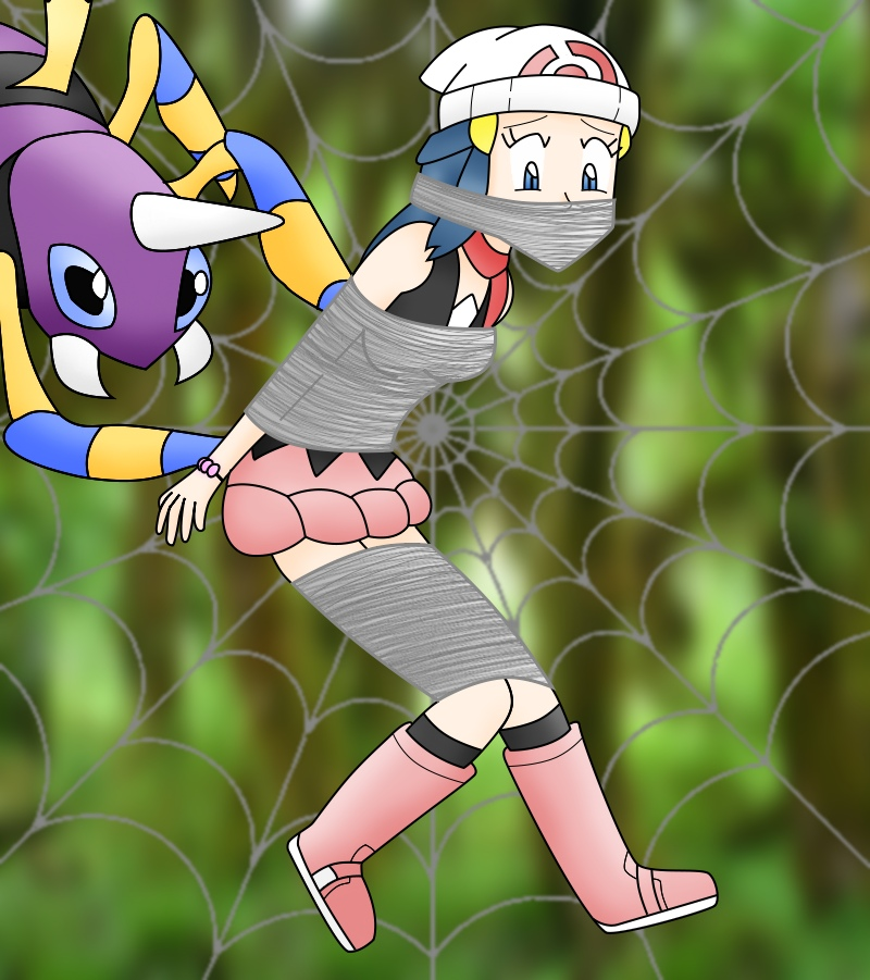 Pokemon Dawn: Ariados Webbing Dawn By HanSolo14 On DeviantArt