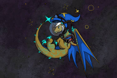 Space Dragon Nisovin by TanyaTanypoo