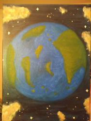 earth  by Bertriced