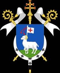 Coat of Arms of Gotland Catholic.