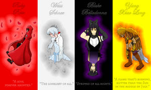 Ruby-Weiss-Blake-Yang Wallpaper