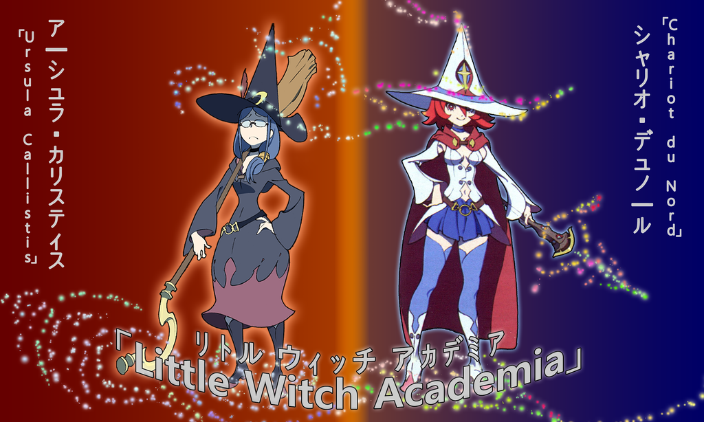 Little Witch Academia - Ursula / Chariot Wallpaper by ...