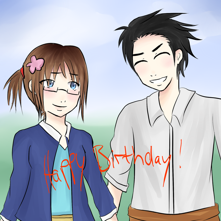 HAPPY BIRTHDAY VAIKDRACO!!! by Mizzy5897