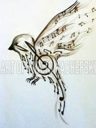 Music to My Ears tattoo design
