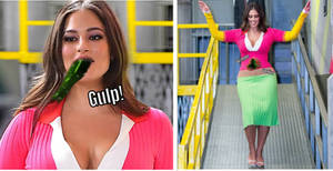 Ashley Graham's Encounter With Flubber (Story)