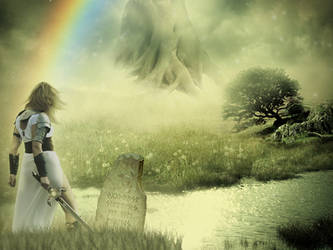 Yggdrasil by Cosmic-Cherry-Tree