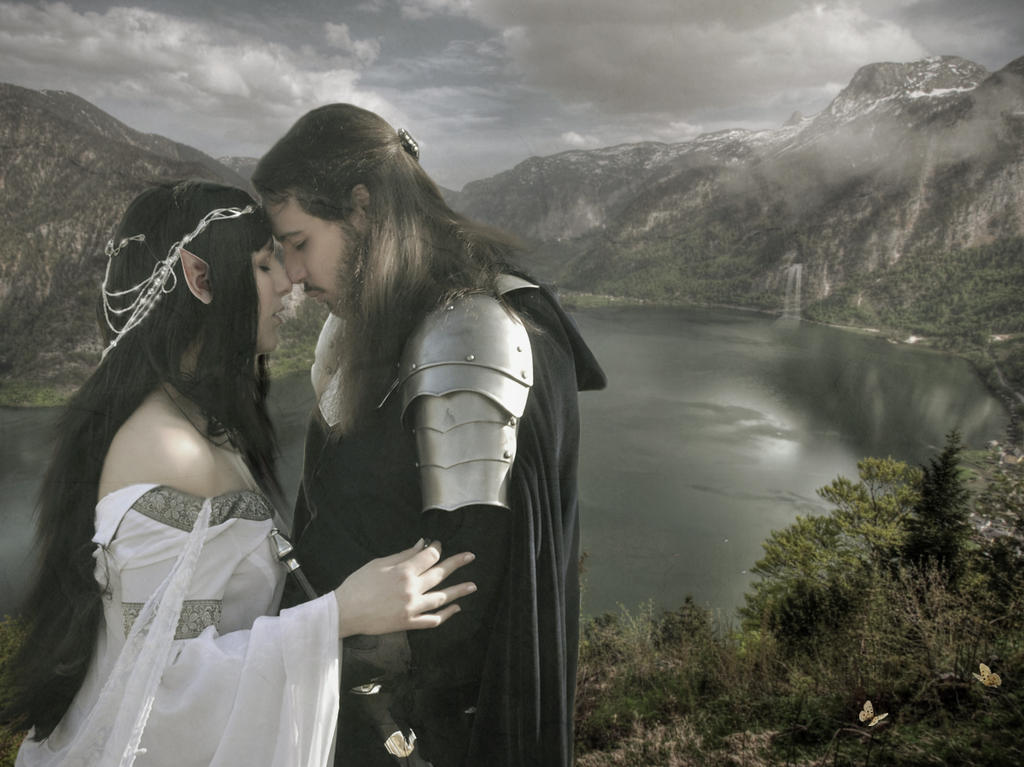 Beren and Luthien by Cosmic-Cherry-Tree