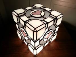 Companion Cube by DarkeVitrum