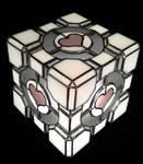 Companion Cube Corner by DarkeVitrum