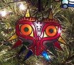 Mini Majora Mask Ornament - Stained Glass