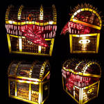 Stained Glass Mimic Lamp