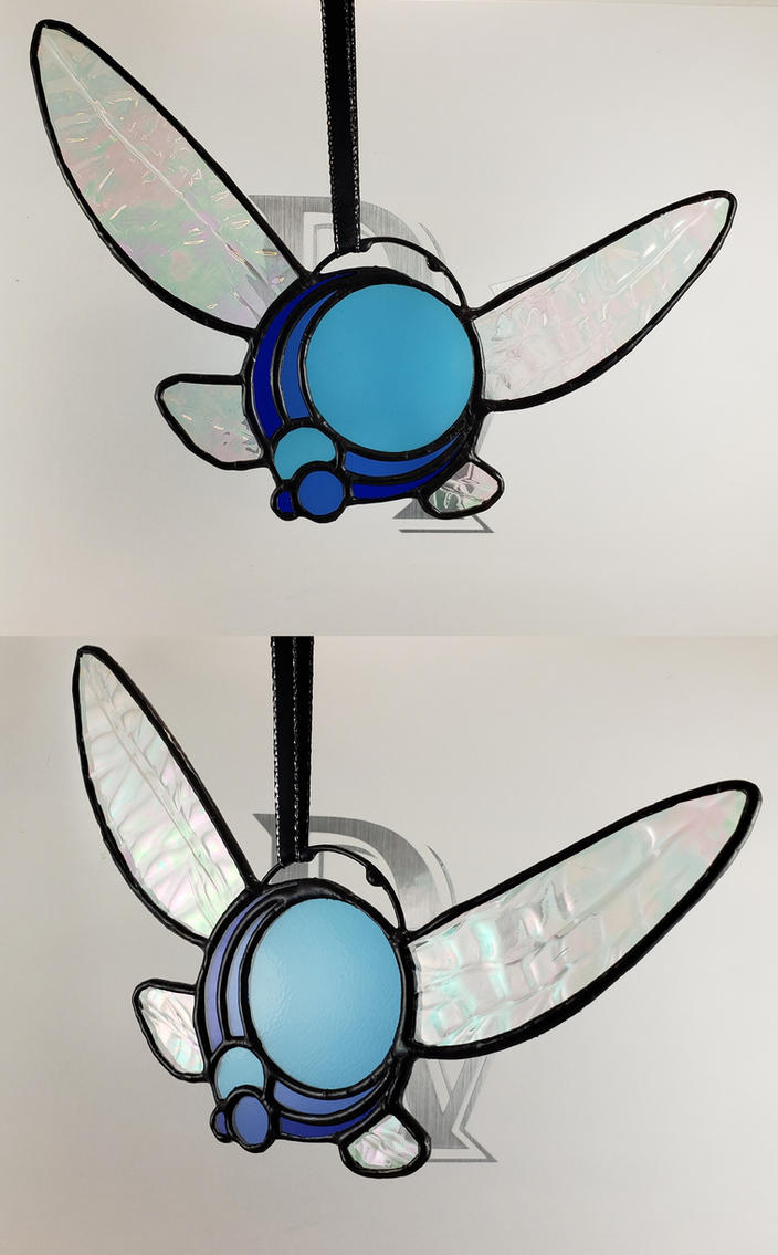 Stained Glass Navi Ornament 2.0 by DarkeVitrum