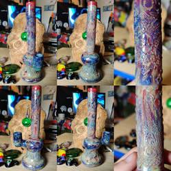 Mandala WaterPipe Carving