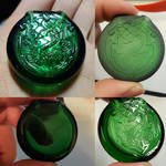Slytherin Pendant Carving