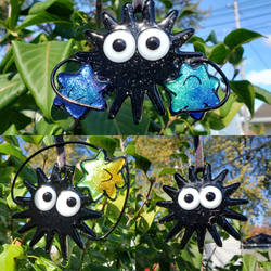 Fused Glass Soot Sprites