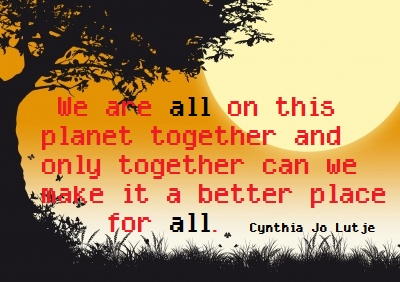 We Are All In This Togetherquote By Cjlutje On Deviantart