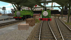 Percy And Duck Were Horrified!