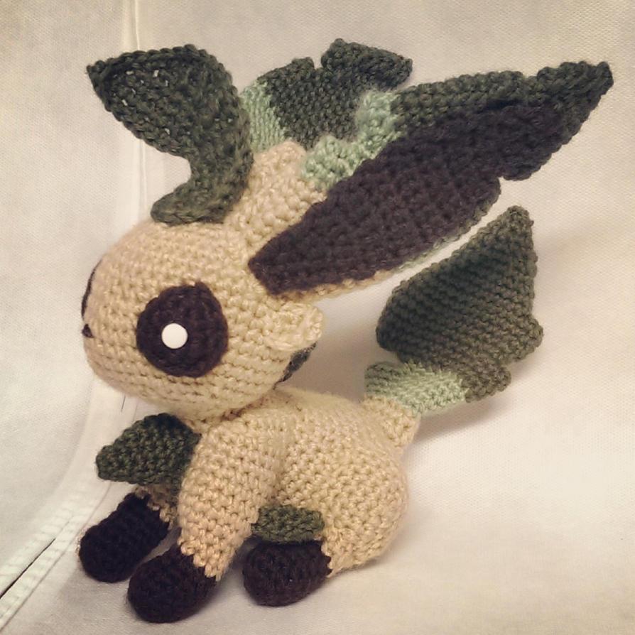 Leafeon (Crochet) by SirPurlGrey on DeviantArt