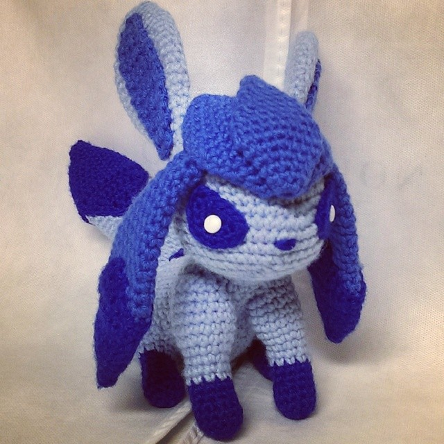 Glaceon (Crochet) by SirPurlGrey on DeviantArt