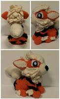 Arcanine Crochet