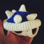 Spiny Blue Shell from Mario Kart