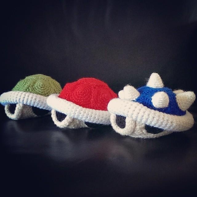 Koopa Shells Crochet By Sirpurlgrey On Deviantart