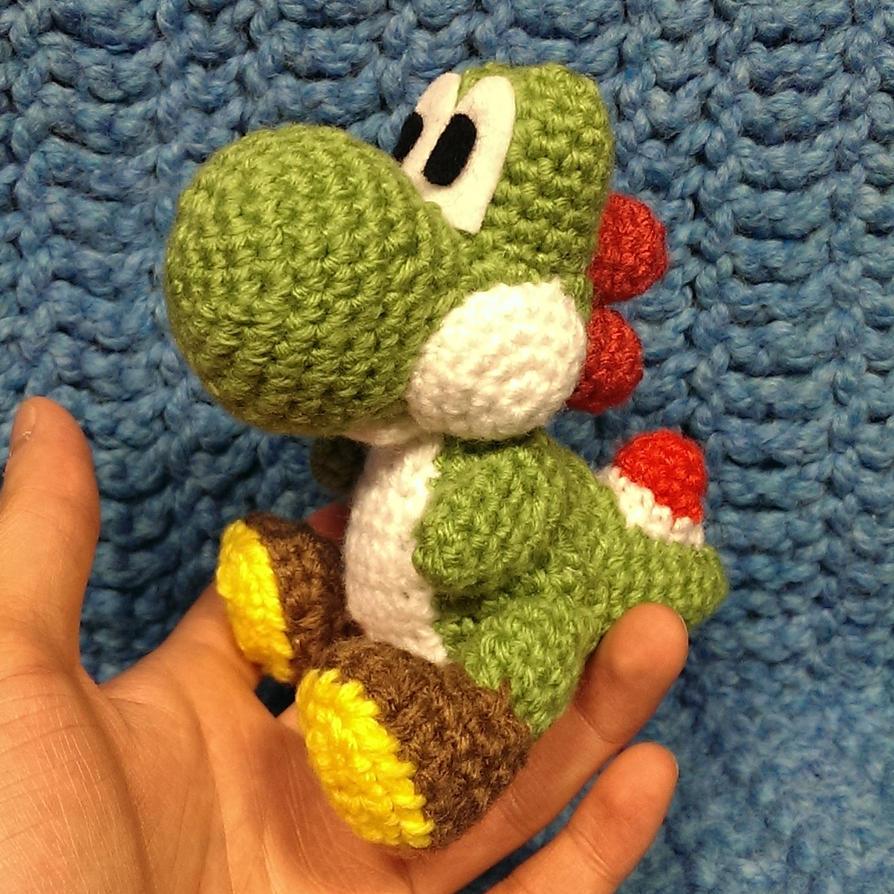 Amigurumi Yoshi Patron Gratuit : Yoshi (Crochet) by SirPurlGrey on DeviantArt