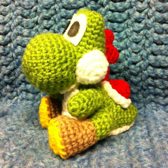 Knitting Pattern Yoshi : Yoshi Crochet Pattern by SirPurlGrey on DeviantArt