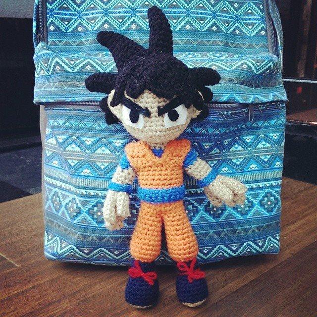Amigurumi Dragon Ball Goku : Goku (Crochet) by SirPurlGrey on DeviantArt