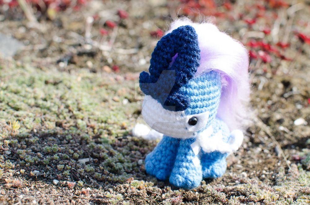 Suicune Amigurumi (Crochet) by SirPurlGrey