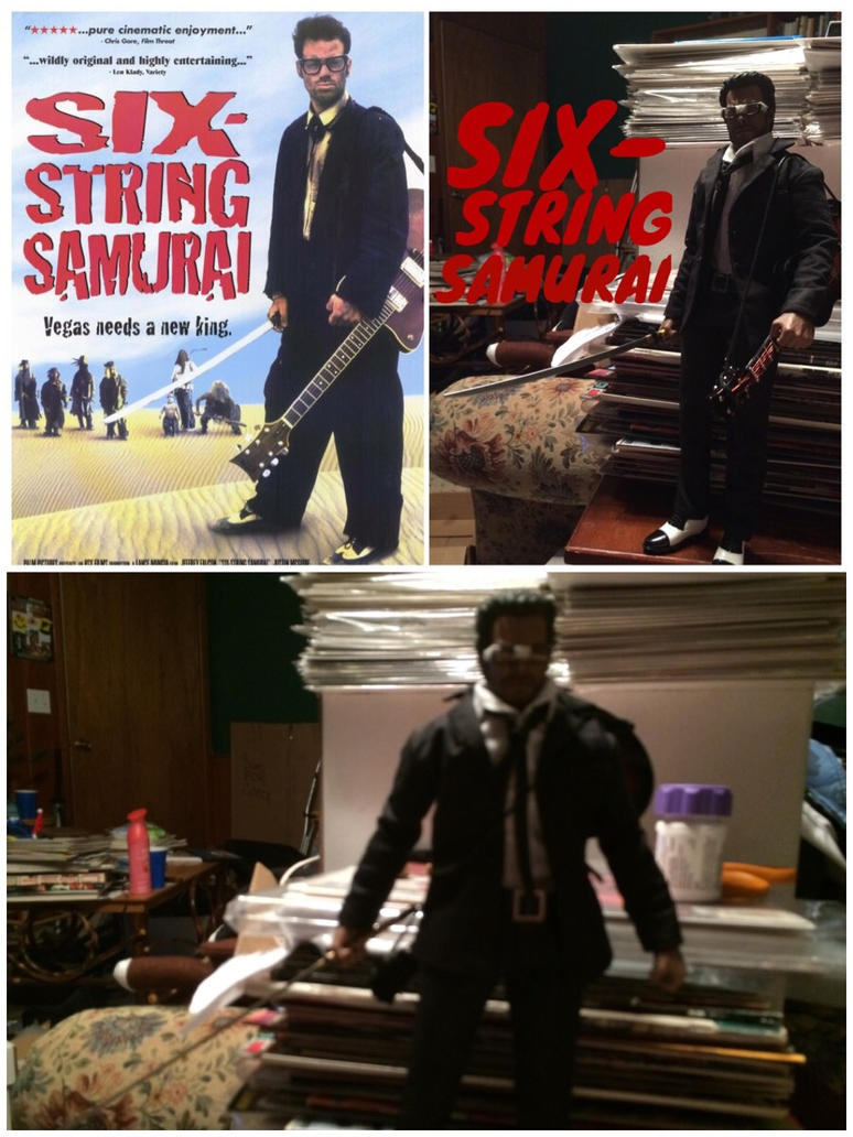 Six-String Samurai Custom Action Figure Pic Set 1 by ThatGeekWiTheClipOns