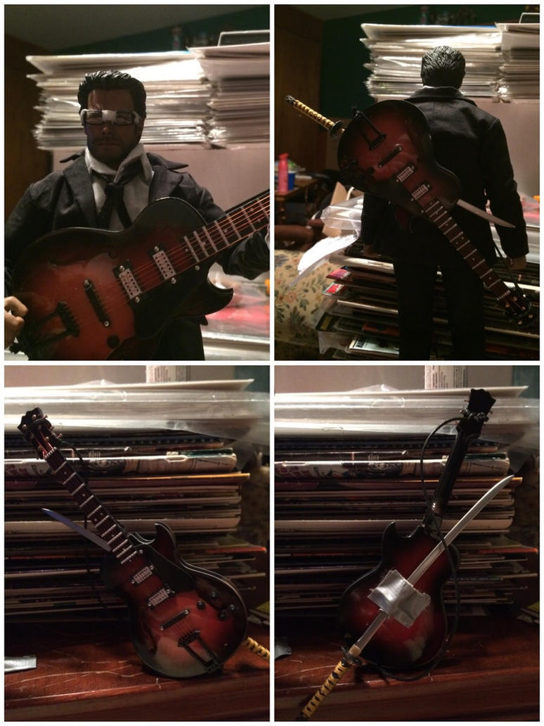Six-String Samurai Custom Action Figure Pic Set 2 by ThatGeekWiTheClipOns
