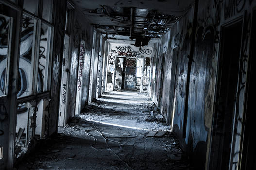 Larundel Asylum Hallway