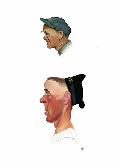 20 minute Rockwell Studies 1 by ArtofJeffHebert