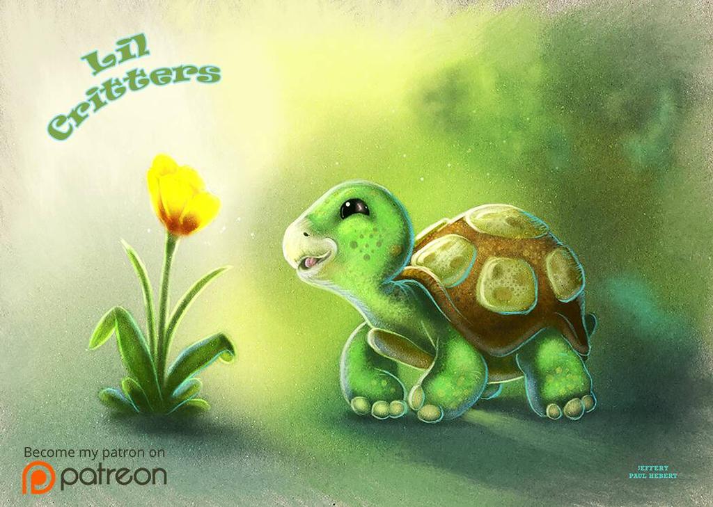 Lil Turtle by ArtofJefferyHebert