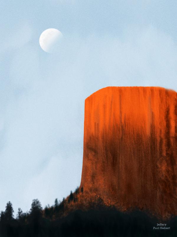 Dawn At The Mountain by ArtofJefferyHebert