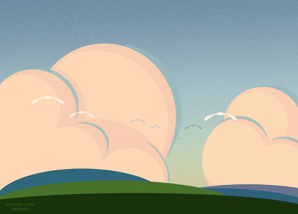 Silly Morning Sky's  by ArtofJefferyHebert